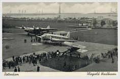 rotterdam - oud-charlois - airport Waalhaven (Waal harbour)