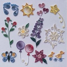 Beginner how too Quilling Patterns Paper Quilling For Beginners, Paper Quilling Tutorial, Paper Quilling Patterns, Quilled Paper Art, Quilling Paper Craft, Quilling Techniques, Paper Beads, Paper Crafts, Quilling Instructions