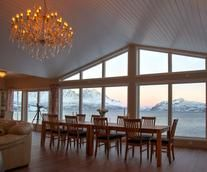 Arctic Panorama Lodge. A fantastic place for winter as well as summer holidays with activities.