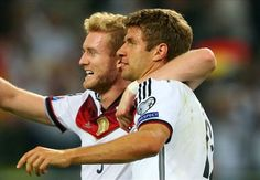 Germany 2-1 Scotland: Muller double spares world champions' blushes