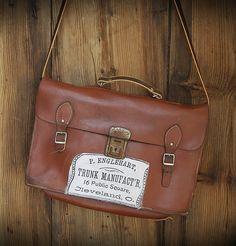 cute leather  school bag
