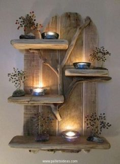 Charming Unique Driftwood Shelves Solid Rustic Shabby Chic Nautical Artwork in Home, Furniture & DIY, Furniture, Bookcases, Shelving & Storage Rustic Shabby Chic, Shabby Chic Homes, Rustic Decor, Rustic Wood, Country Western Decor, Rustic Style, Diy Pallet Projects, Wood Projects, Pallet Ideas