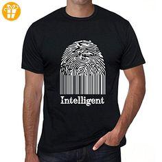 Intelligent Fingerprint, tshirt herren, fingerabdruck tshirt, tshirt geschenk - Shirts mit spruch (*Partner-Link)