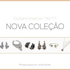 Fall Winter '16/17  New collection 💎 SHOP ONLINE: www.freakumstore.com  #stop #fallwinter1617 #newcollection #novacoleção #love #fashion #acessories #todayisagoodday #onlinestore #onlineshop #freakum #freakumstore