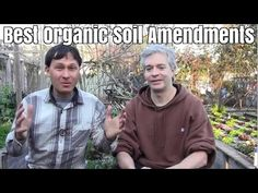 Best Organic Soil Amendments to SuperCharge Plant Growth - YouTube