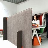 "These felt room dividers have a certain simplicity and elegance that makes them both a great high-end design and an inspiring template for a DIY project. Created by UK-based Buzzispace, the ""Buzziscreen"" and ""Buzzizone"" dividers are made from a core of biodegradable board material covered in felt, with panels attached together by that brilliant invention—the zipper!"