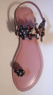 Beaded Sandal in various colour accessorised with colourful beads to add beauty to the sandal and to complement your attire.