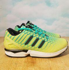da07a1a06a9fd Adidas Men ZX Flux Size 10.5 AQ8212  adidas  RunningShoes