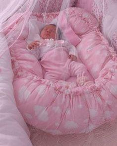 Ninho do bebê / Ninho redutor de Berço / BabyNest #ninhodobebê #babynest #ninhoredutordeberço