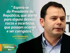 Luís Montenegro, Líder Parlamentar do Partido Social Democrata, em entrevista à TSF. #PSD #acimadetudoportugal