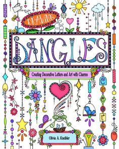 L'Art du dessin livre Dangles, enseigne comment dessiner votre propre Alphabet Dangles, Art et plus, 144 Pages, gratuit haut & minuscules n & b Alpha