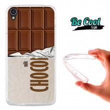 Capa Gel Alcatel OneTouch Idol 3 5.5 BeCool Tablete de chocolate