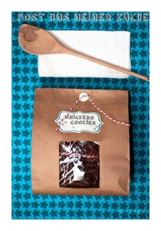 Post aus meiner Küche - Schokoladige Snickers Cookies