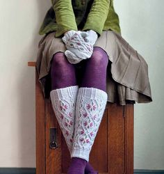 Ravelry: Innsbruck Mittens + Leg Warmers pattern by Courtney Kelley and Kate Gagnon Osborn