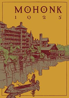 Mohonk Mountain House - 1925 by Fitcharoo