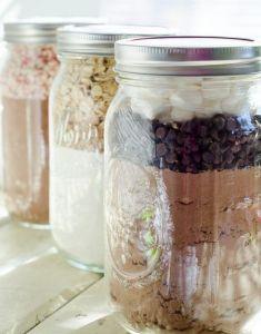 [DIY] Cookie mix in a jar #mariage #wedding  Cadeau invités !