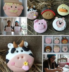 Our Farm Yard Animals Cupcake Class is full of those animals that children (and adults!) adore, we will be focusing on moulding fondant to create the huge variety of farmyard creatures: -Sheep, Horse, Duck, Dog, Cow, Cat, Donkey, Rabbit, Pig, Goose, Bull & Farmer You will take home a box of 12 Individual and unique …