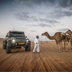 Best places to go and travel destination ideas for adventure goals and bucket list inspiration , journal tips could be USA Europe asia china italy paris africa londen dubai new york venice tokyo turkey lost angles and etc G 63 Amg, Desert Days, Benz G, Billionaire Lifestyle, Bugatti Chiron, Cars And Coffee, Le Web, Camels, Amazing Cars