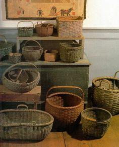 Antique Baskets Collection