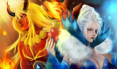 the King and the Queen by carmenomo.deviantart.com on @DeviantArt