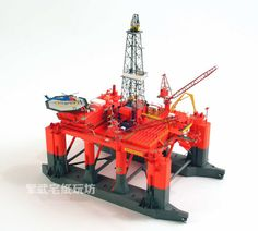 3D DIY Paper Model Kit 1/400 Scale Norway Bredford Dolphin Offshore Drilling #UnbrandedGeneric