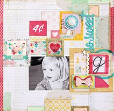 """GORGEOUS """"Oh Darling"""" LO by Christine Middlecamp 