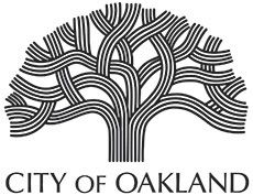 We could use the Oakland tree logo for our wedding invitations Destination Branding, City Branding, Branding Design, Logo Design, California City, Oakland California, Oakland City, Conference Logo, City Logo