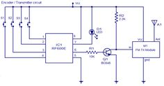 #FMRemoteEncoder circuit is an FM remote encoder using the ICs RF600E and RF600D. These devices are designed to provide a high level of security and operates from anything between 2 to 6.6V DC. Contact us : https://goo.gl/AXalV6