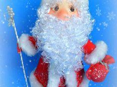 Скидка на куклу Дед Мороз   Ярмарка Мастеров - ручная работа, handmade