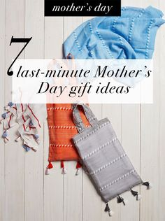 7 last-minute Mother's Day gift ideas Last Minute, Mother Day Gifts, Special Occasion, Gift Ideas, Shopping, Gift Tags