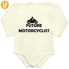 Future motorcyclist Baby Romper Long Sleeve Bodysuit Extra Large - Baby bodys baby einteiler baby stampler (*Partner-Link)
