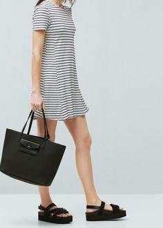 Sac shopper porte-monnaie - Sacs pour Femme | MANGO France
