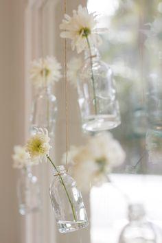 pretty hanging vases.