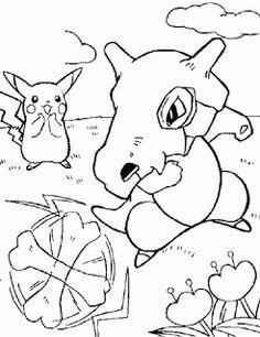 Pokemon Coloring Pages Emolga