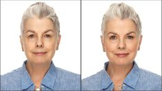 A full face makeover for older women using Drug store makeup. In this simple, natural looking makeup tutorial, I demonstrate some classic makeup techniques garnered from my forty year career as a makeup artist. Being over 60 years old myself, I understand Best Drugstore Makeup, Best Makeup Products, Older Women Hairstyles, Cool Hairstyles, Maybelline, Face Makeover, Makeup Makeover, Fashion Weeks, Grey Eyebrows