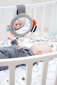 Done by Deer spiegel met clip - BellyBloz - Baby & zwangerschap