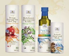 Vitality Oils with great #packaging PD