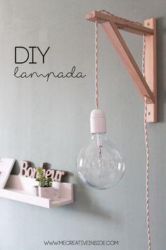 Most recent Free IKEA tips: DiY Lamp Cable lamp tutorial lamp DIY with bracket -. Most recent Free IKEA tips: DiY Lamp Cable lamp tutorial lamp DIY with bracket – Diy – IK … Diy Wand, Hammock Diy, Luminaria Diy, Mur Diy, Ikea Bedroom, Trendy Home, Bedroom Lighting, Ikea Lighting, Furniture Makeover