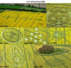 First 7 Crop Circles of 2009