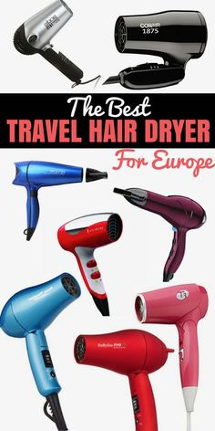 Hair dryers can be large and bulky for travel. for that reason, we have reviewed and found the best travel hair dryer to help you look styled and fashion forward. via @chasethedonkey