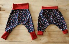 5 patterns and tutorials to sew a baby harem pants LOUISE