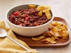 Spicy Beef Chili from FoodNetwork.com