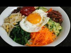 Bibimbap (비빔밥) & Dolsot-bibimbap (돌솥비빔밥) - YouTube