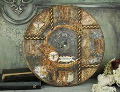 vasilis kontos alter clock steampunk