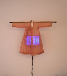 """Nam June Paik. """"Ommah"""" (which means mother in Korean)."""