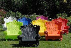 outdoor stühle thronstühle design toll