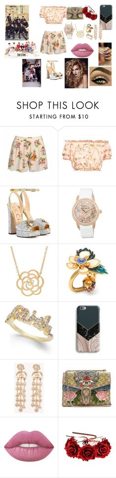"""""""UP10TION"""" by btsloveforlife on Polyvore featuring Gucci, Lord & Taylor, Mulberry, Joan Boyce, Harper & Blake and NA-KD"""