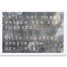 """Mercury Row 'Happy People' Framed Textual Art Frame Color: White, Size: 26"""" H x 38"""" W x 0.5"""" D"""