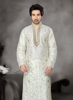Off White wedding wear designer kurta pyjama Wedding Wear, Our Wedding, Sherwani, Designer Wear, Off White, Shops, Men Casual, Pajamas, Pyjamas