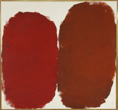 "Raymond Parker ""Untitled"", 1960. Acrylic on Canvas 60″h x 64″w"